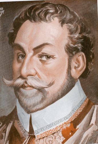 Francis drake illustration.