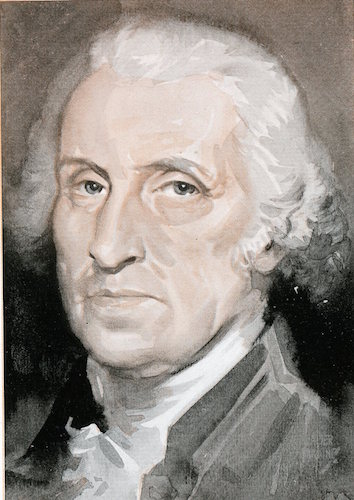 George washington illustration.