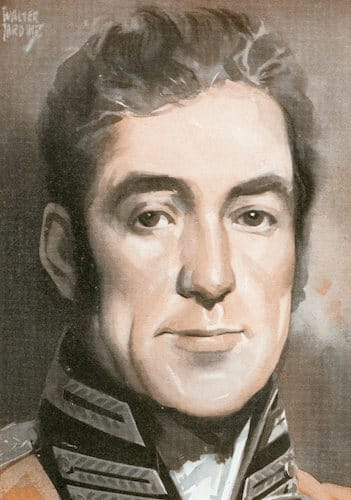 Lachlan macquarie illustration.