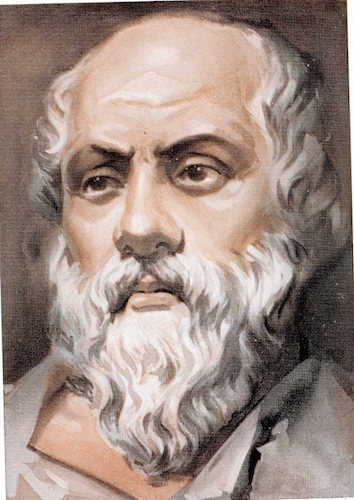 Socrates illustration.