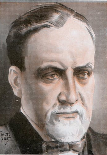 Louis pasteur illustration.