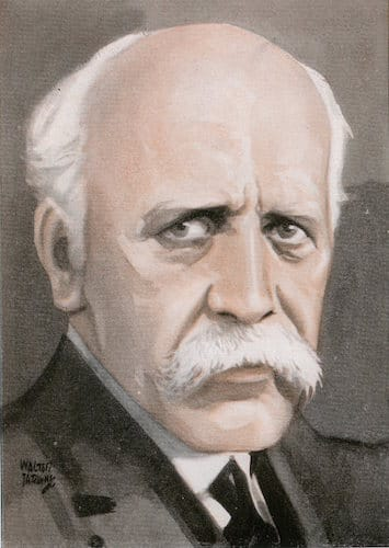 Dr Fridtjof nansen illustration.