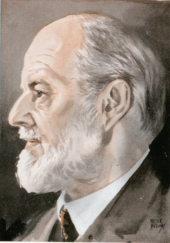 Sir Frederick henry royce illustration.