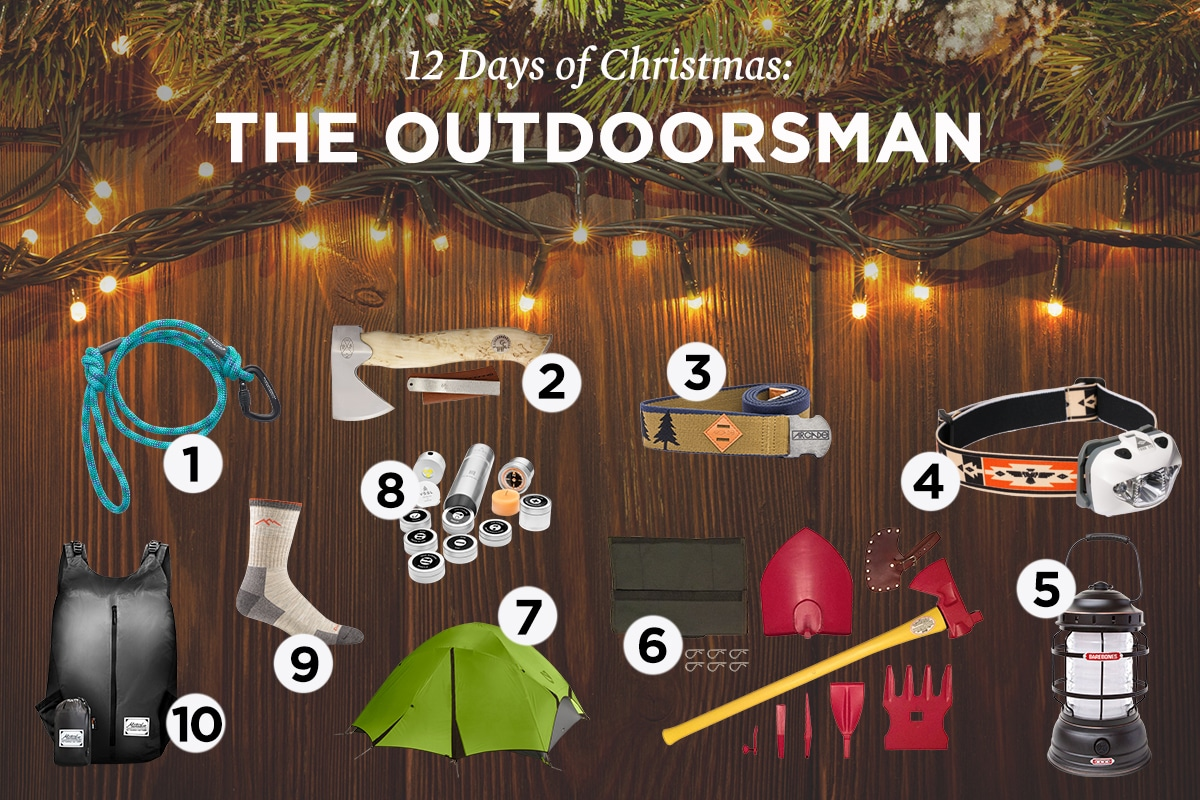 Special collections of the outdoorsman on christmas.