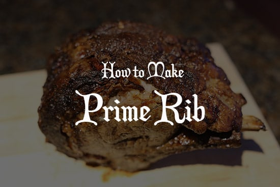 how to make prime rib at home