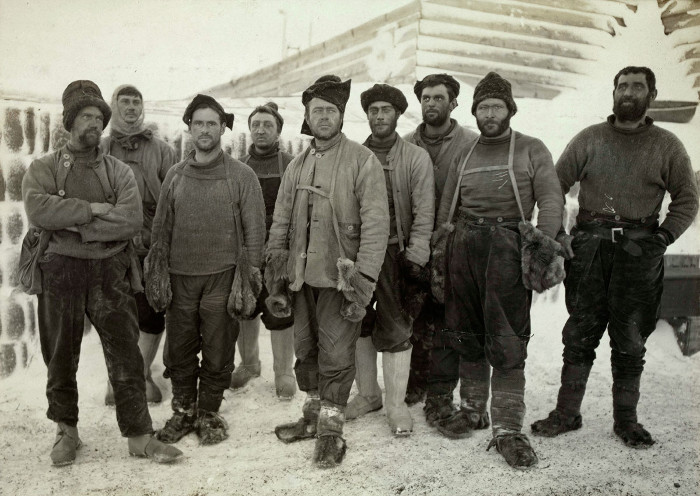 Heroic age of antarctic exploration.