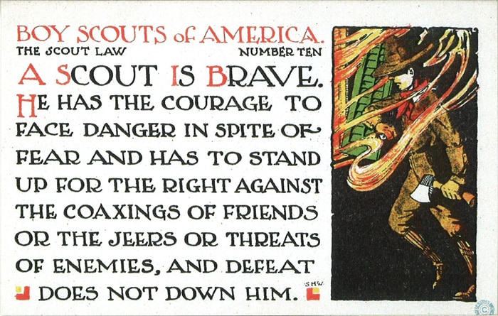 boy scouts of america the scout law