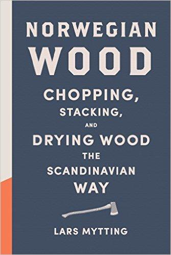 Book cover, norwegian wood by Lars mytting.
