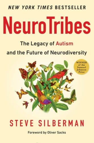 Book cover of neurotribes by steve silberman.