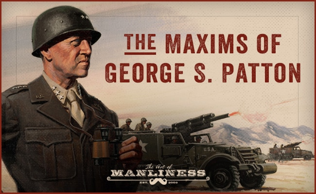 A battle view of george s patton.