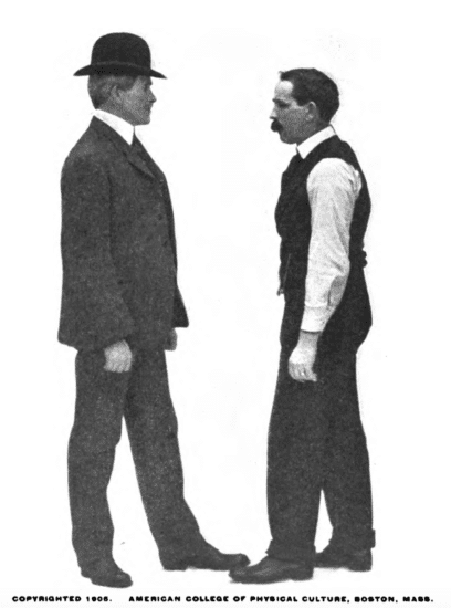 Argument with a person illustration