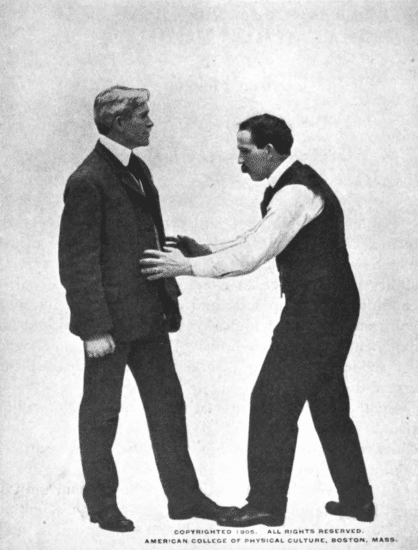 Lesson about how weak person stop an opponent illustration.