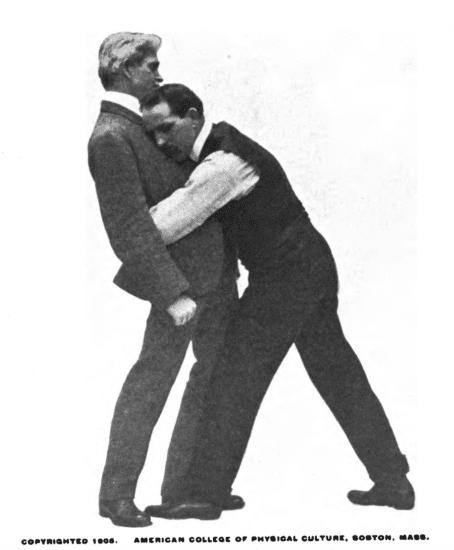 Bending your opponent illustration.