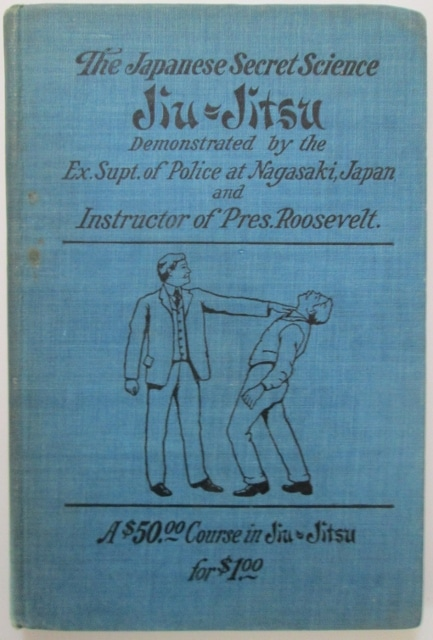 vintage jiu jitsu book cover j j o'brien
