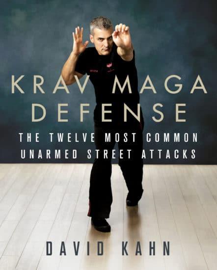 Krav maga defense book cover david kahn.