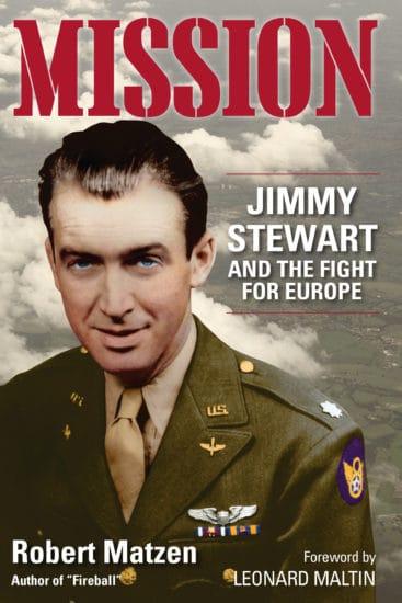 mission jimmy stewart book cover robert matzen
