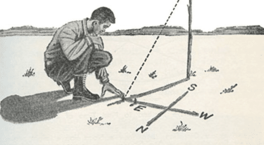 How to Find Direction Using the Sun and Stars | The Art of Manliness
