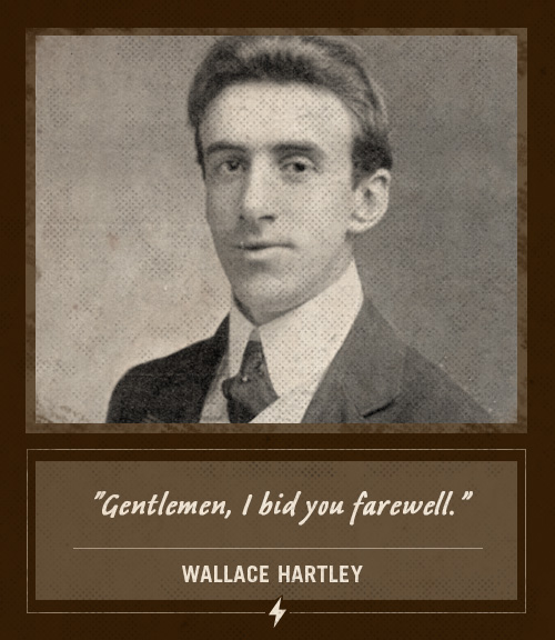 wallace hartley last words titanic bandmaster i bid you farewell
