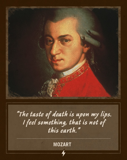 mozart last words taste of death