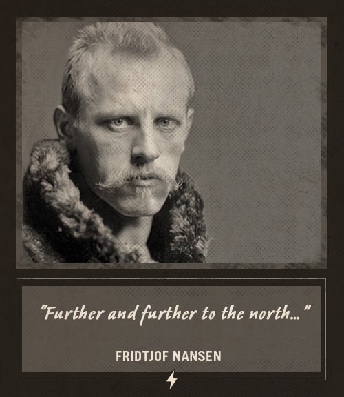 fridtjof nansen last words further to the north