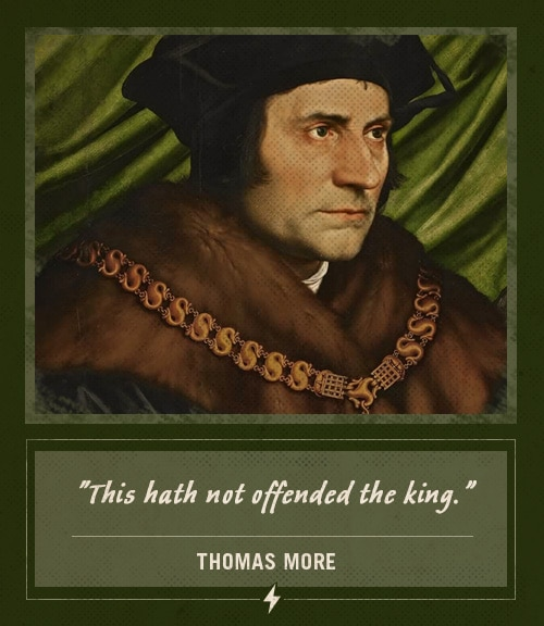 thomas more last words this hath not offended the king