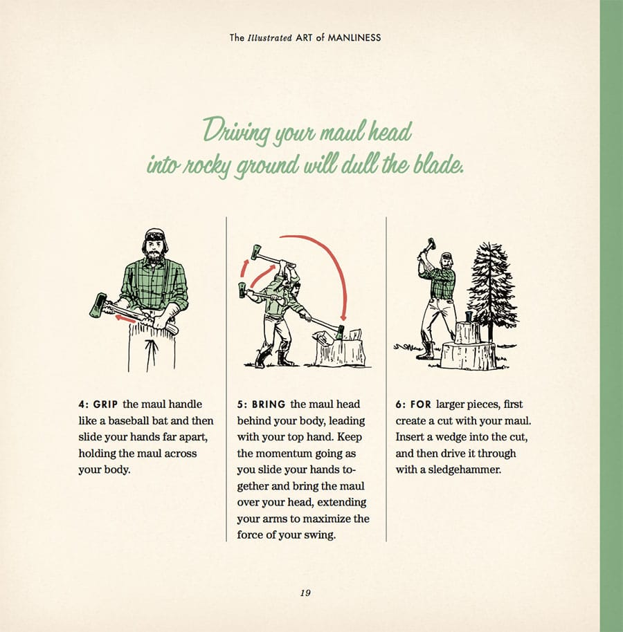 The illustrated art of manliness book signed copy the art of in the illustrated art of manliness youll find charming vintage inspired illustrations that cover how to match a shirt and tie ccuart Images