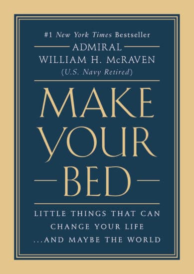 make your bed book cover admiral william mcraven