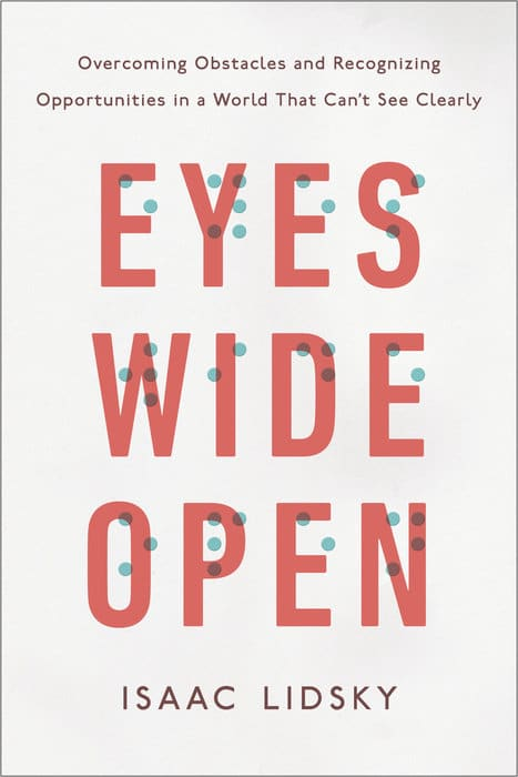 eyes wide open book cover isaac lidsky