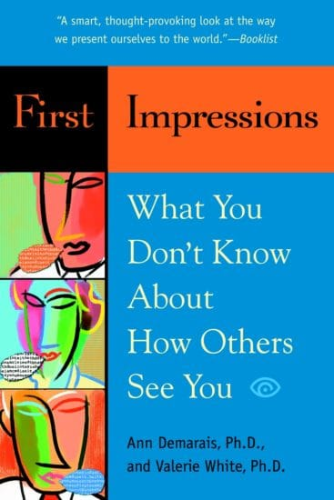 first impressions book cover ann demarais