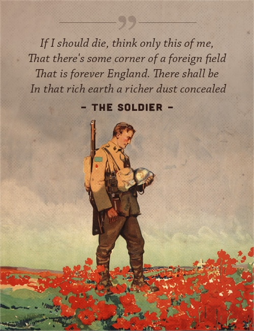 the soldier poem by rupert brooke