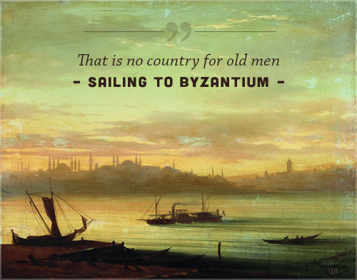 sailing to byzantium poem that is no country for old men