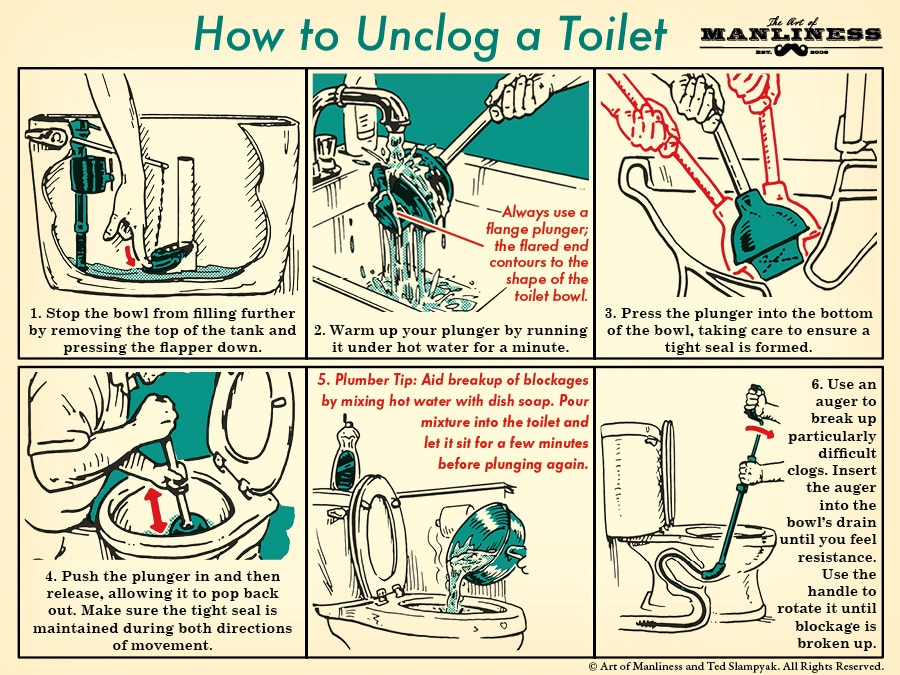 How To Unclog A Toilet Like Plumber