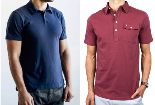 3eeee8b6a03f0 My two favorite polo brands  Flint and Tinder (left) and Criquet (right).  Both have a great