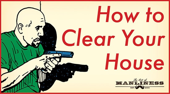clear your home of an intruder illustration