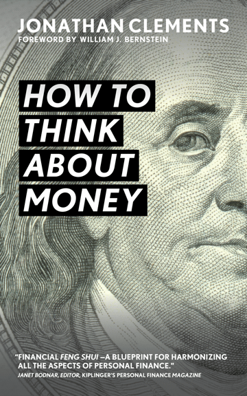 how to think about money book cover jonathan clements