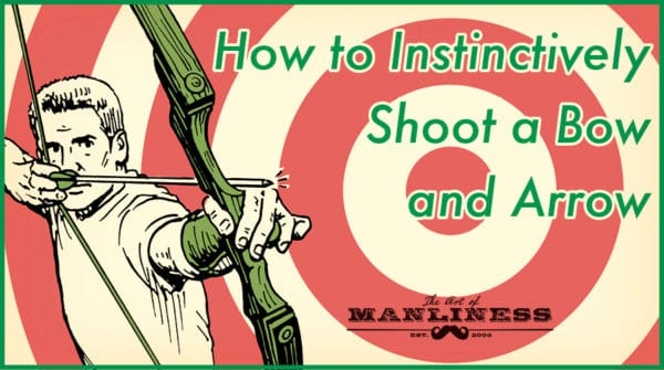 how to shoot a bow and arrow illustration