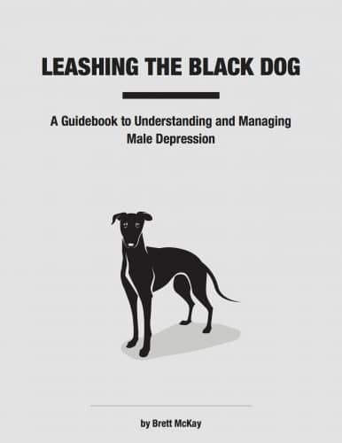 leashing the black dog book cover brett mckay
