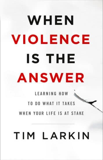 when violence is the answer book cover tim larkin