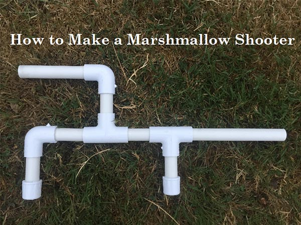 pvc pipe marshmallow shooter gun