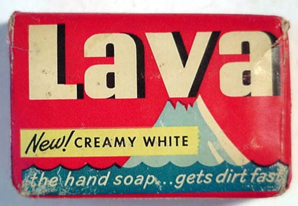 vintage lava soap bar