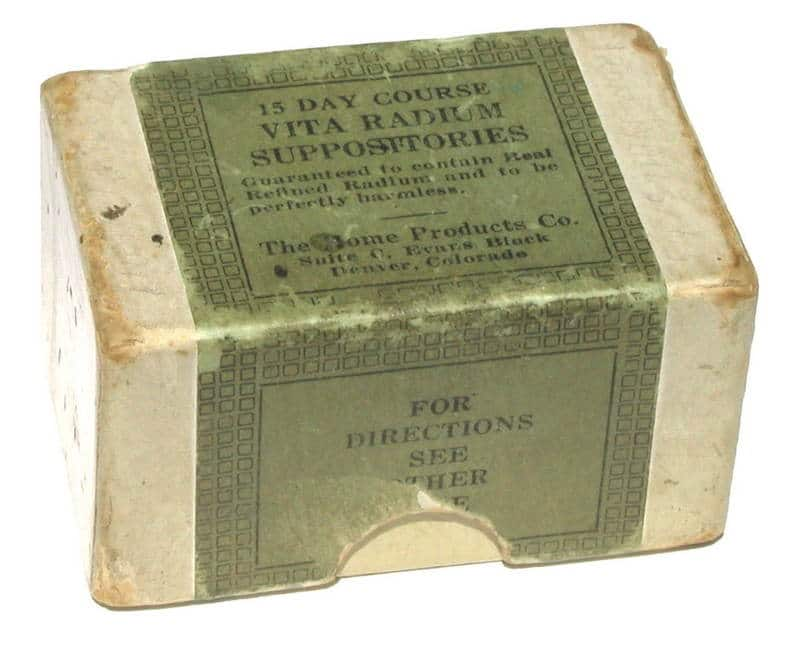 vintage radium suppository for virility
