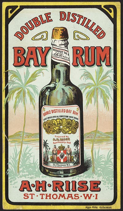 vintage bay rum ad advertisement
