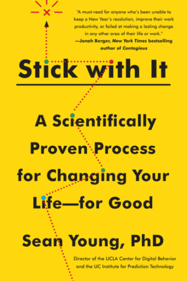 A wallpaper of stick with it scientifically proven process.