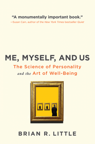 me myself and us book cover brian little