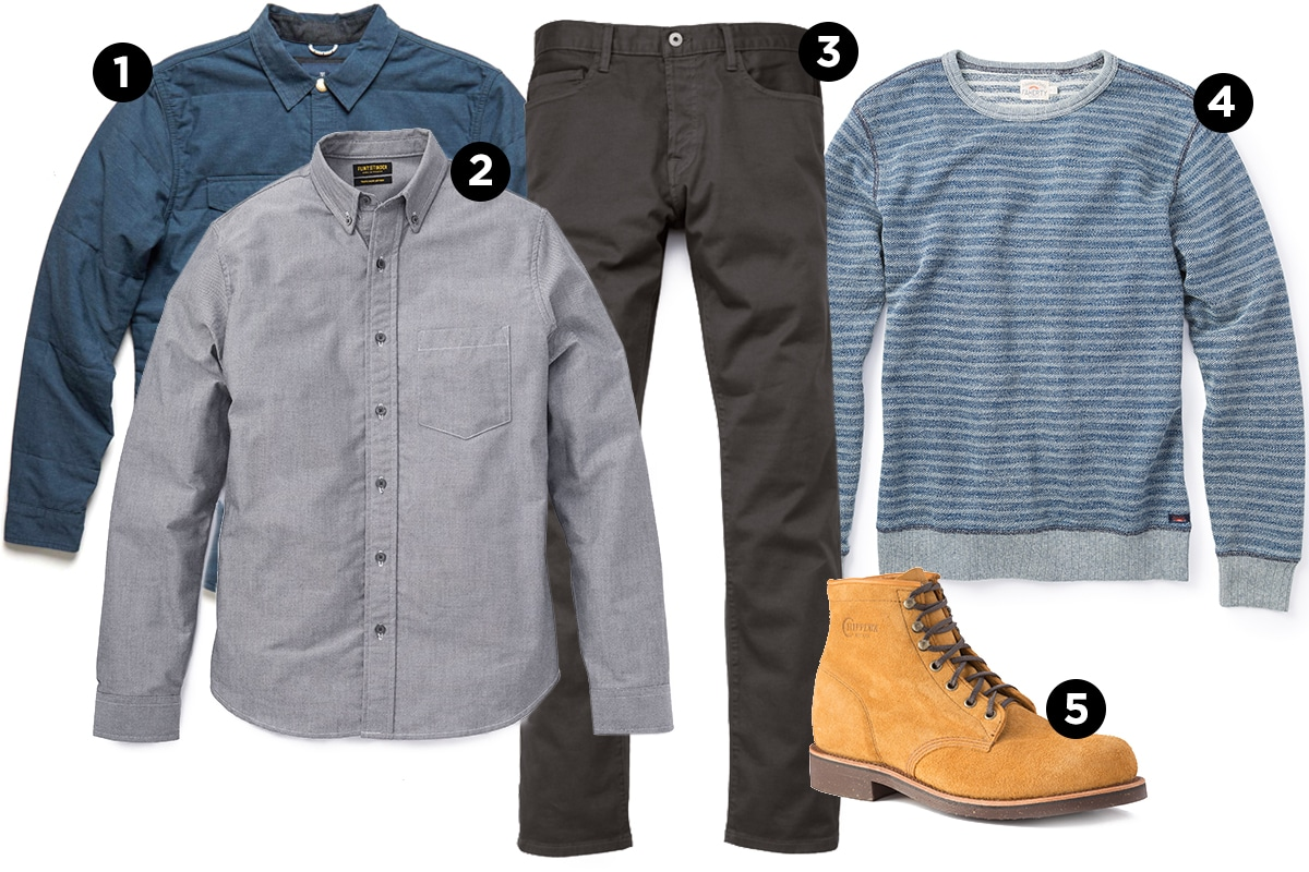 Outfitted & Equipped: Casual Fall Layers | The Art of Manliness