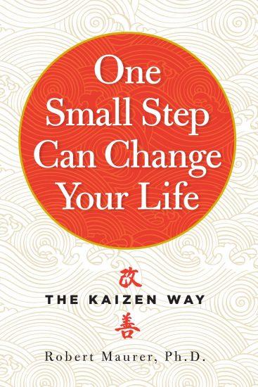 The kaizen way book cover, written by robert maurer.
