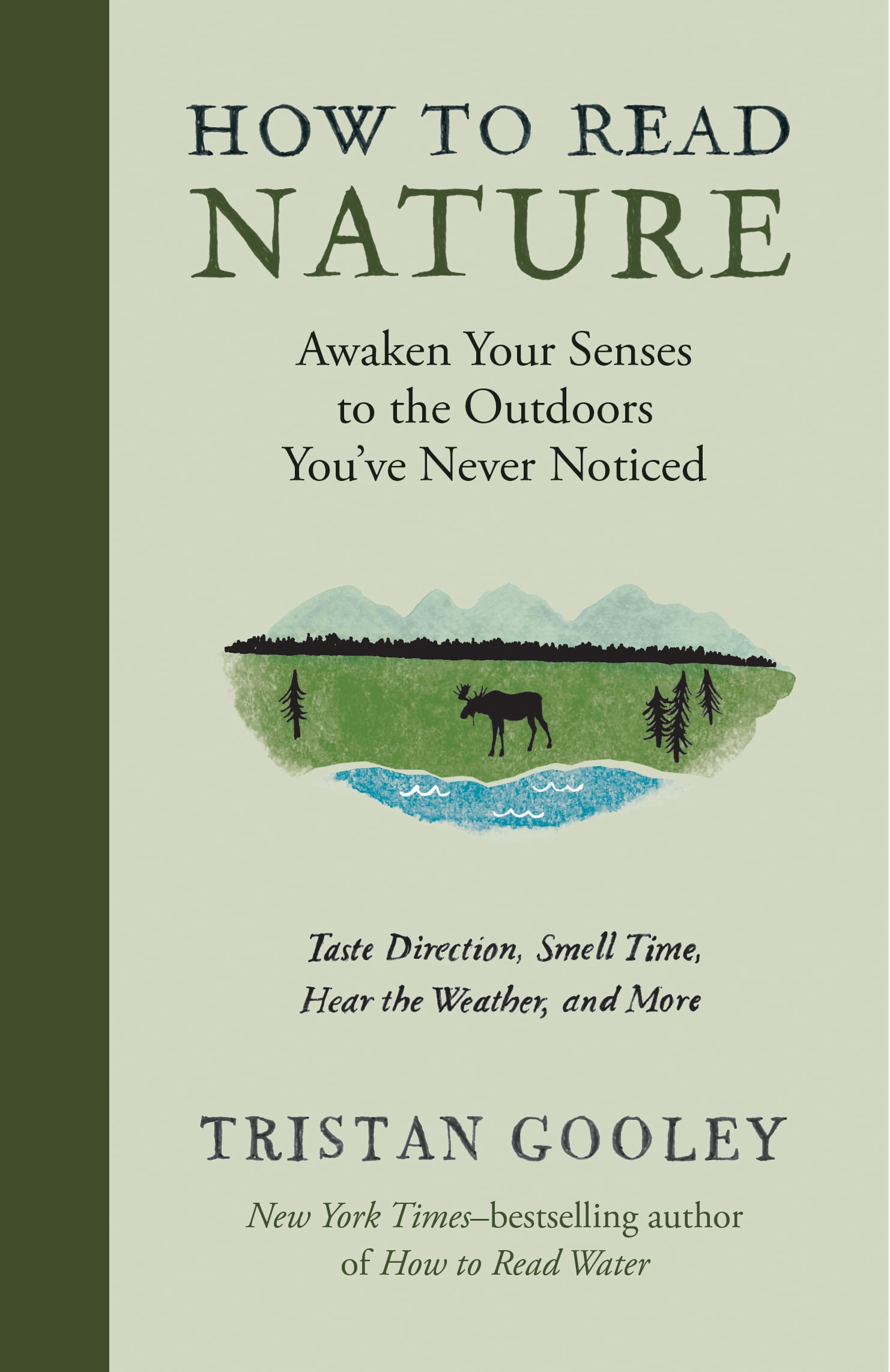 How to read nature, written by tristan gooley.