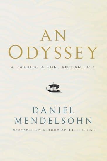an odyssey book cover daniel mendelsohn