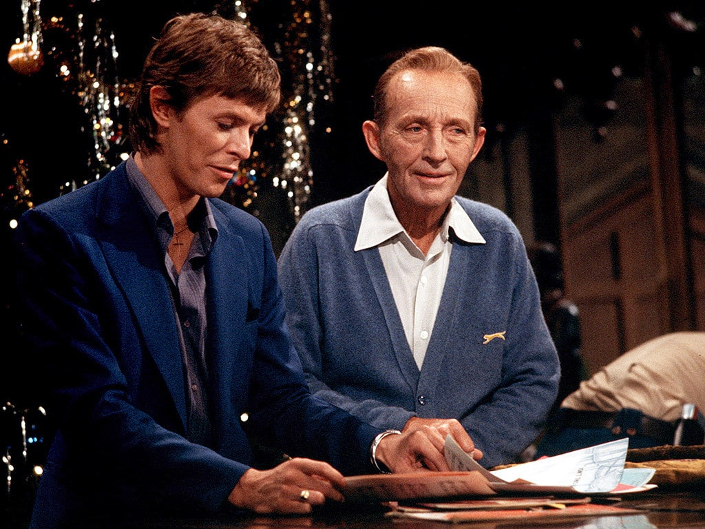 david bowie bing crosby little drummer boy 1977