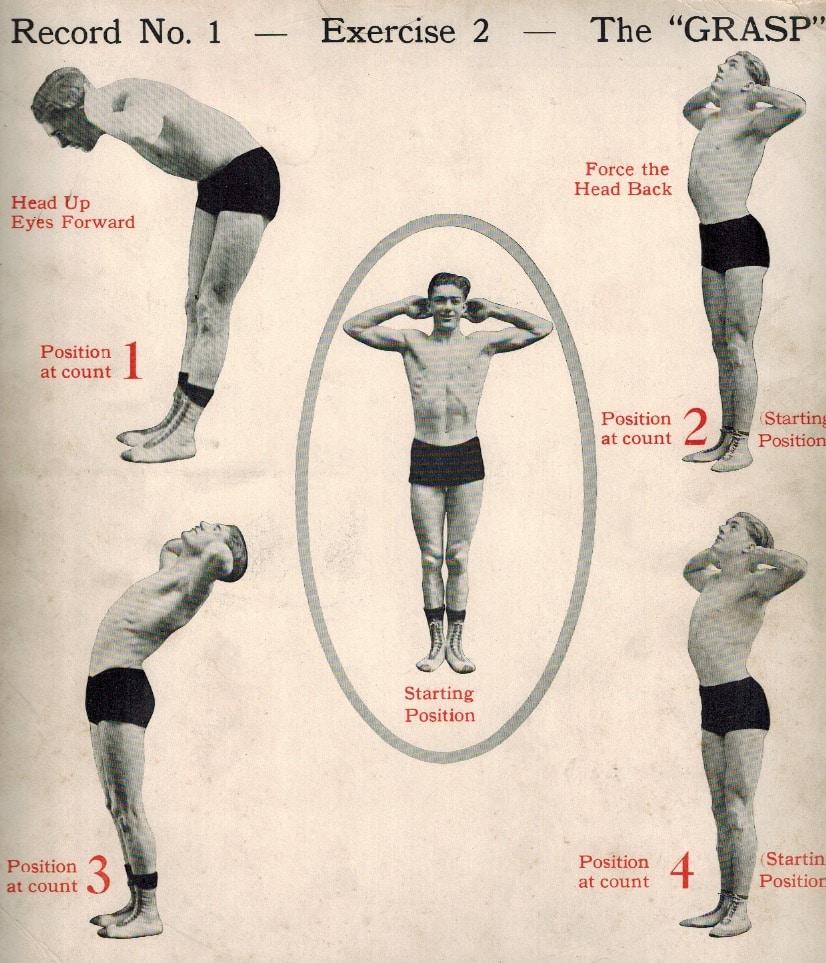 Daily dozen exercise#2: the grasp.